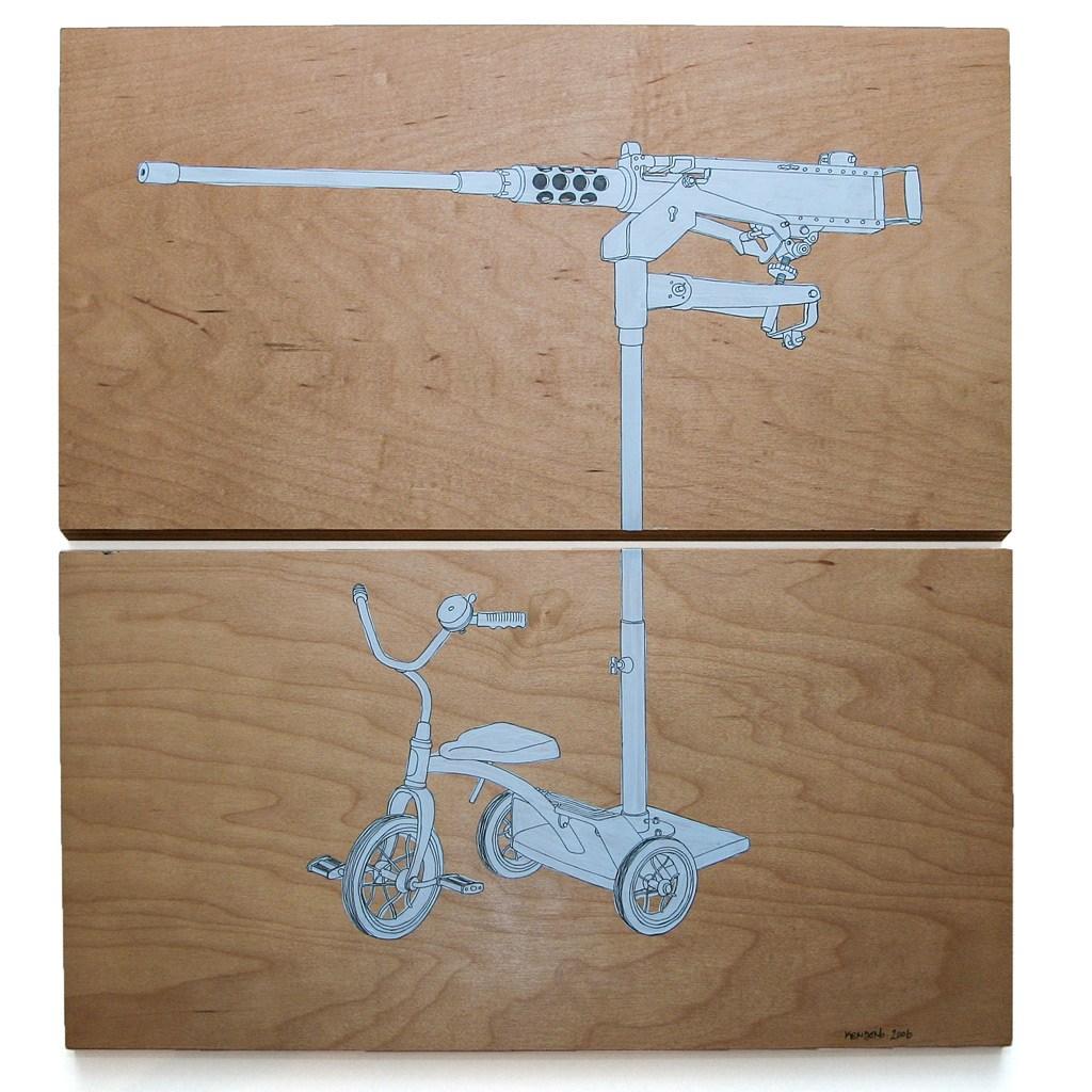 30mm Trike painting