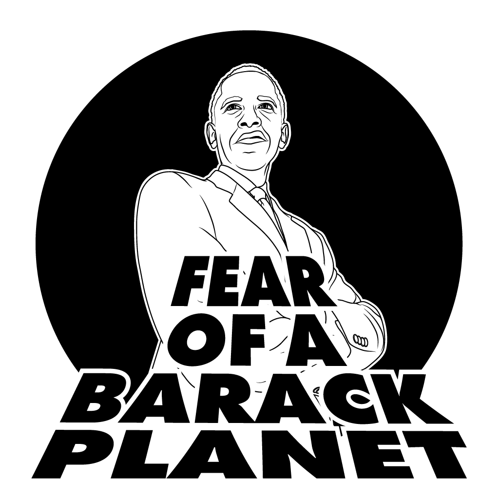 Fear of a Barack Planet, Barack Obama, Public Enemy, The Hundreds, Rosewood, President of the United States
