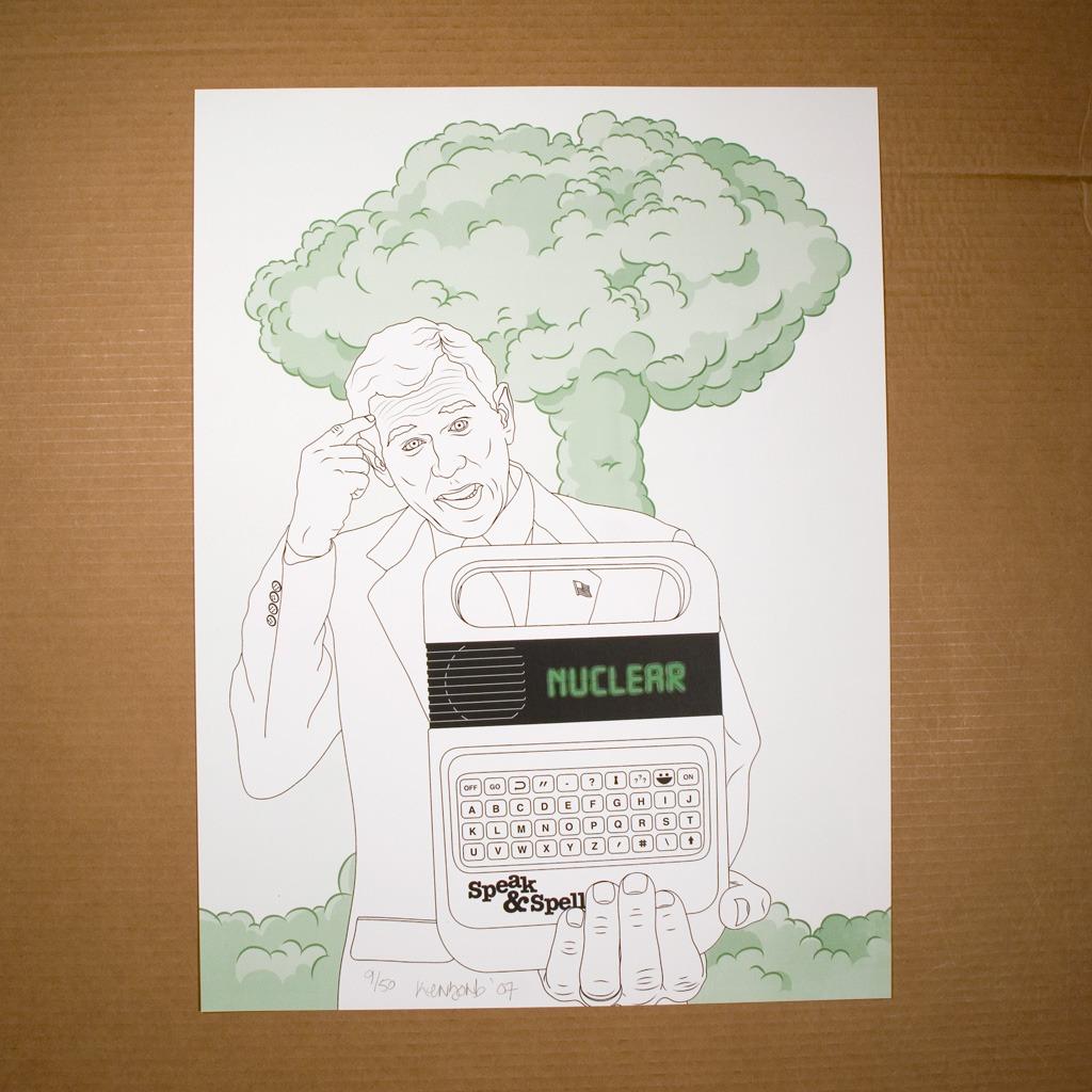 Nookular green print