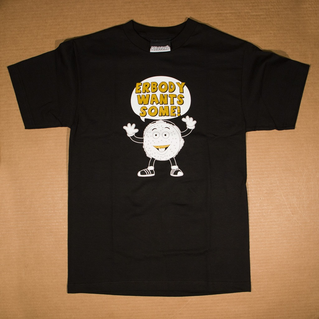 Erbody Wants Some! t-shirt black