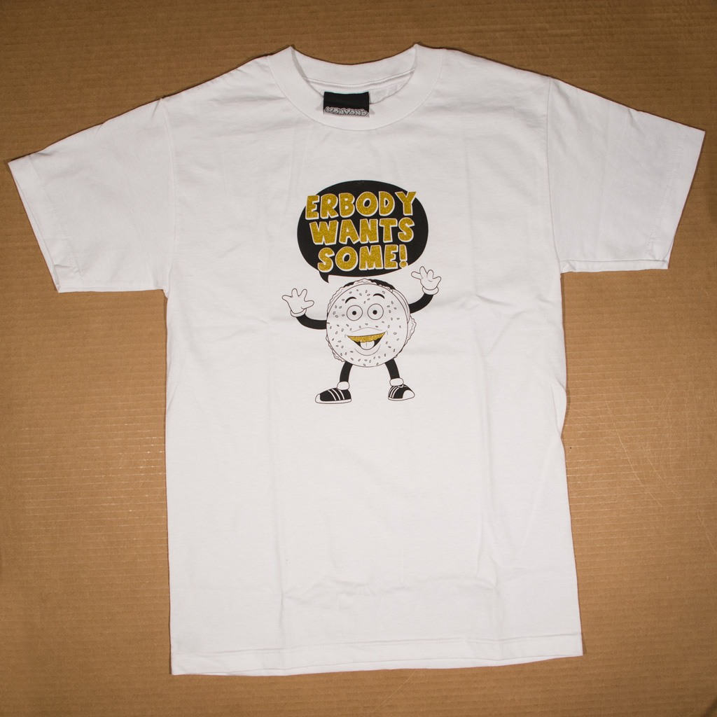 Erbody Wants Some! t-shirt white