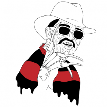 Fab 5 Freddy, Freddy Krueger, Illustration