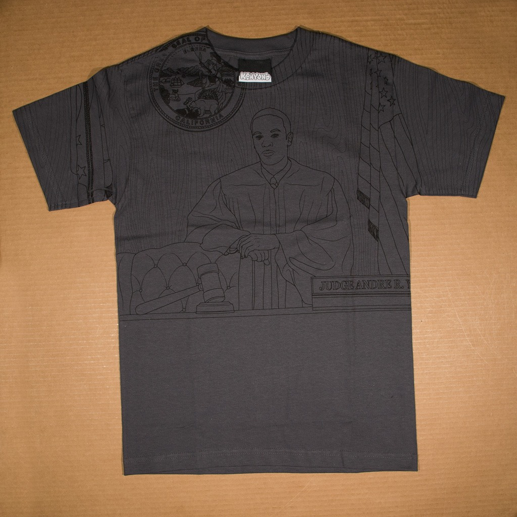 Honorable Judge Dre t-shirt charcoal