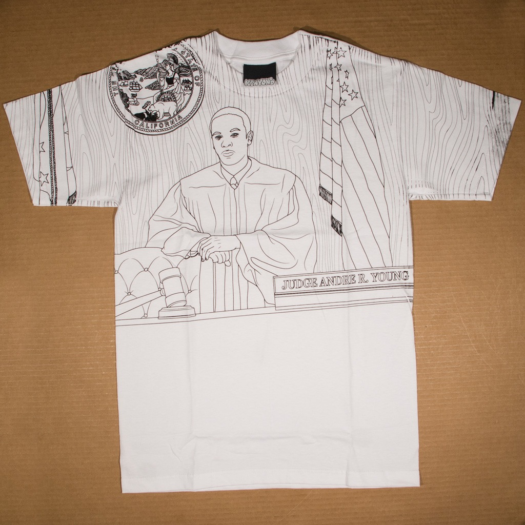 Honorable Judge Dre t-shirt white