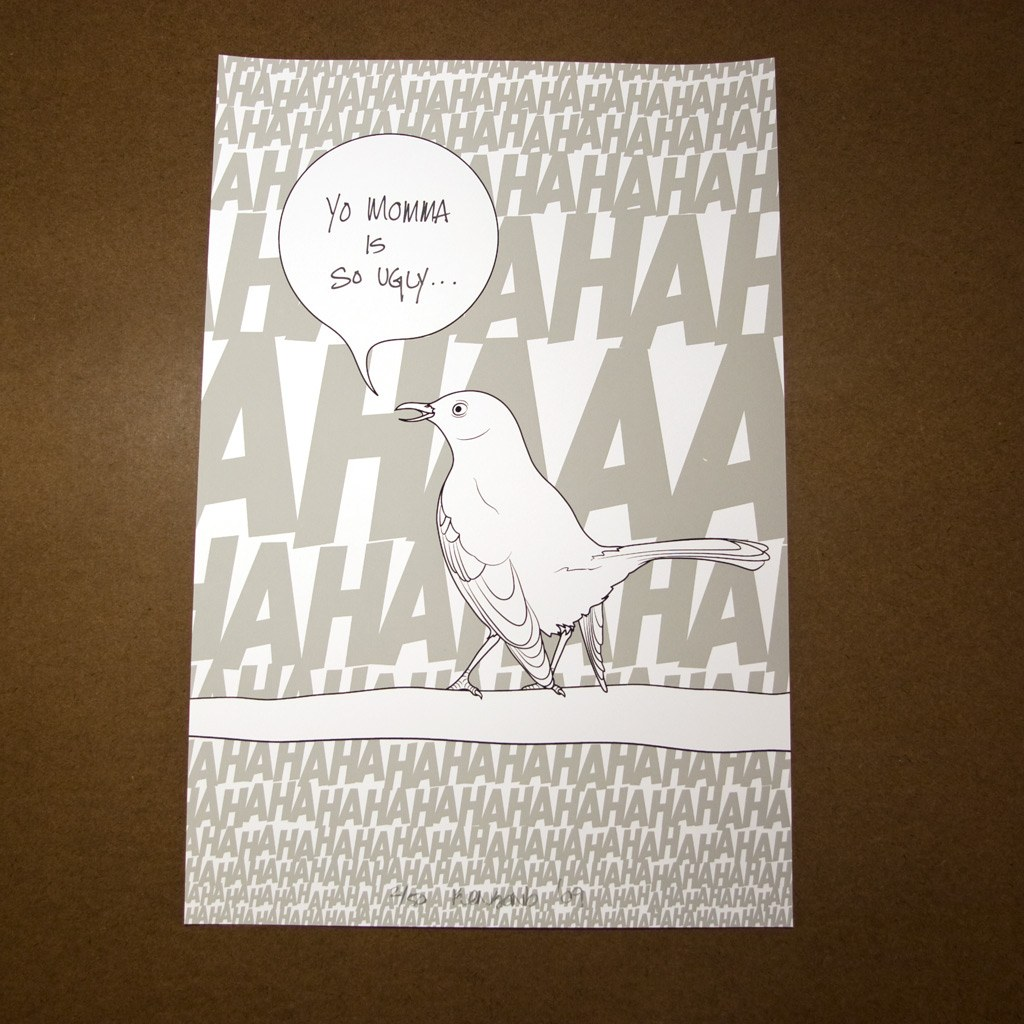Mockingbird print #1