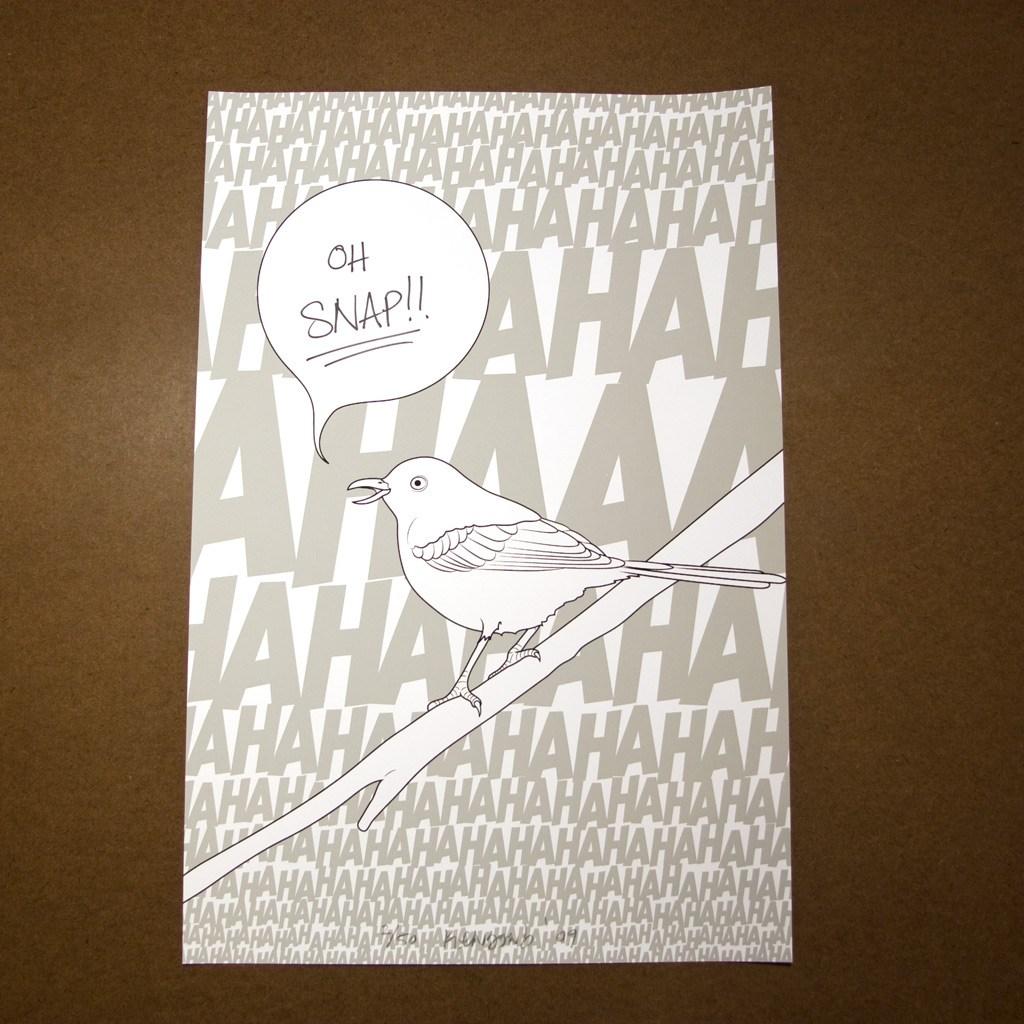Mockingbird print #3