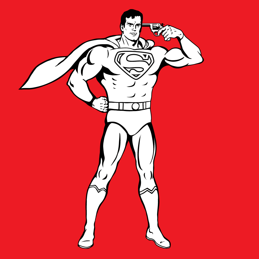 Superman, Man of steel, Faster Than A Speeding Bullet, Gun to head, suicide