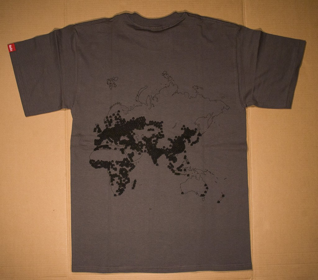 Population Density t-shirt