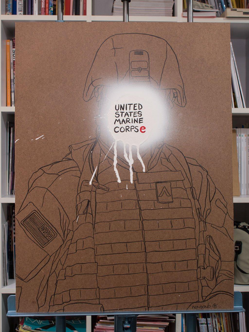 United States Marine Corpse