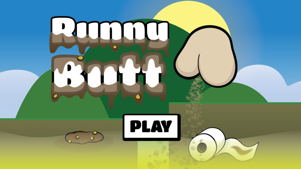 Runny Butt start screen