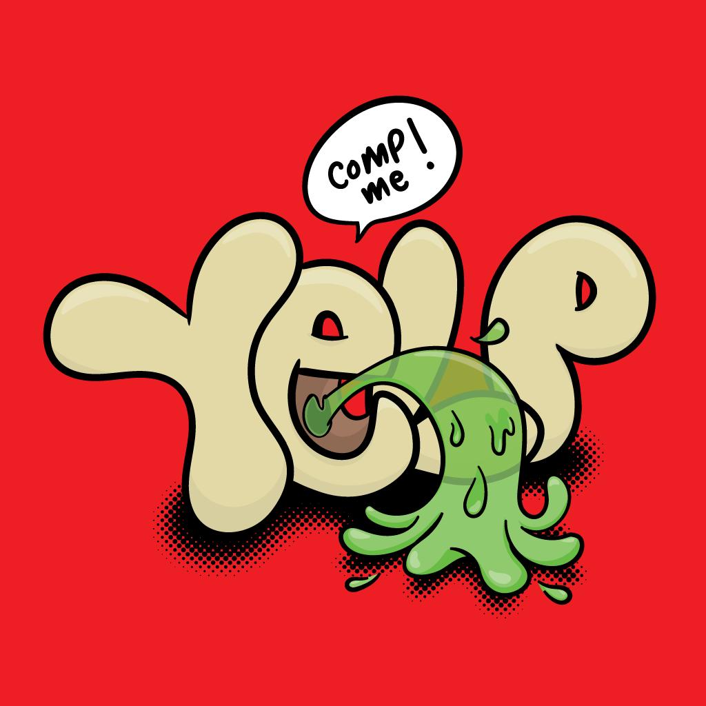 Yelp barf
